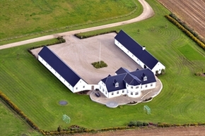 Hesteejendom med ridecenter, ridehus, ridehal Rødding Jylland